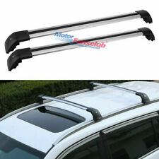 For BMW X3 F25 2011-2019 Black Alloy Crossbar Roof Rack Bars Luggage Carrier
