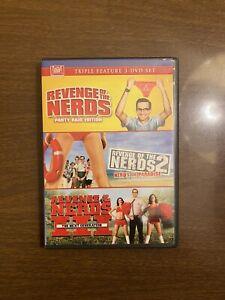 REVENGE OF THE NERDS TRIPLE FEATURE DVD REVENGE OF THE NERDS 1-3 CARRADINE