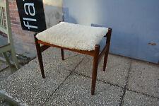 midcentury Spoettrup DK Danmark stool Hocker rosewood Hugo Frandsen design