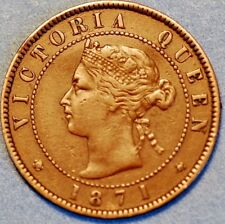 1871 Canada Prince Edward Island One Cent  Victoria