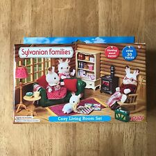 sylvanian families flair cosy living room set rare very htf bnib - Sylvanian Families Living Room Set