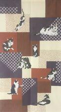 Noren Japanese Cat Nihon Neko Pattern Hanging Door Curtain Deco Polyester Japan