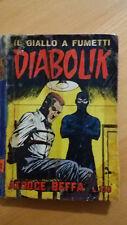 DIABOLIK seconda serie n.10 / 1965  Atroce beffa  ORIGINALE  Sodip