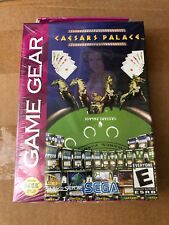 "JEU VIDEO GAME GEAR ""CAESARS PALACE"" NEUF SOUS BLISTER VINTAGE RARE 90'S"
