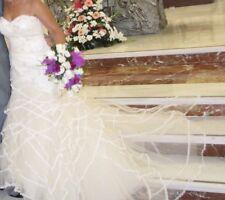 preciosos vestido de novia, color champagne