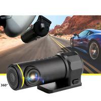 Caméra de Voiture Dashcam HD 1080p pour Voiture Vision Nocturne Enregistrement