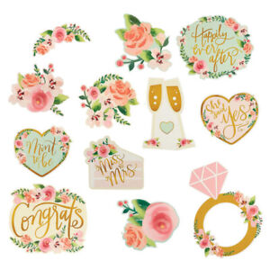 Bridal Shower Decorations Hanging Cutouts Hens Night Party Wedding Supplies