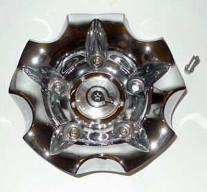 Dropstar Luxury Wheel Collection Bolt On Chrome Rim Center Cap