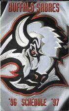 1996-97 NHL HOCKEY SCHEDULE - BUFFALO SABRES
