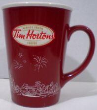 Tim Hortons Red Mug Skyline Limited Edition 2010