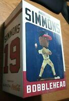 ANDRELTON SIMMONS Atlanta Braves SGA Bobblehead Turner Field 5/22/14 NEW IN BOX