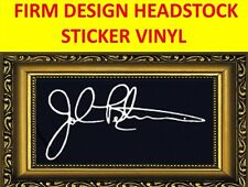 STICKER FIRM WHITE JOHN PETRUCCI DREAM THEATER VISIT OUR STORE WITH MORE MODELS