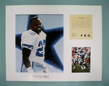Emmitt Smith Dallas Cowboys 1996 NFL Football 11x14 Lithograph Print (scare)