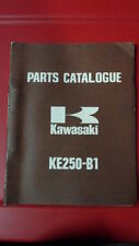 Kawasaki Factory Motorcycle Parts Catalog 1971 KE250 99997-682