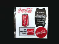 Coca-Cola  Set of 4 Embroidered Patches - BRAND NEW