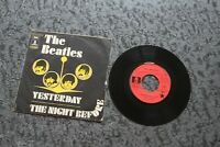 EP2 titres / the Beatles ‎– yesterday & the night before (2C00604454)