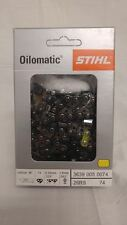 1 Stihl Oilomatic Chain Saw Chain 26 RS 74 18in. 74link 325 .063 3639 005 0074 .