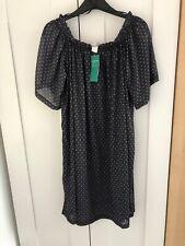 BNWT H&M Off Shoulder Dress. Diamond  Print. Size S (8) Aurumn Parties