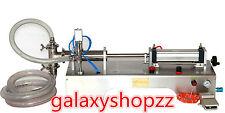 pneumatic liquid filler filling machine for shampoo/oil/water/perfume 3000ml