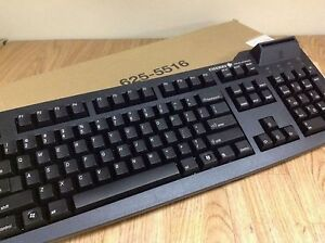 Cherry G83-6644 G83-6644LUAEU-2 Wired USB Keyboard with card reader.
