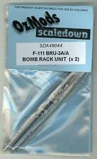 OzMods Models 1/48 F-111 BRU BOMB RACK UNIT (2) Resin Set