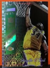 Shaquille O'Neal card Royal Court 98-99 Stadium Club #RC6