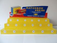 Matchbox Lesney Series/ Display for matchbox cars and truck Number 1-18