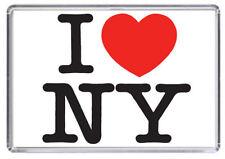 I Love New York / I Heart NY USA Fridge Magnet