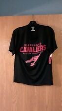 NBA TX3 Cool Cleveland Cavaliers Shirt Adult S 100% Polyester NWT