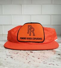 Vintage Powder River Explosives  Rocky Mountain CO. Trucker  Patched Hat