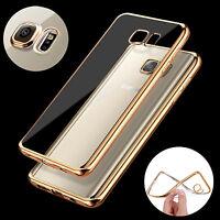 Ultra Thin Slim TPU Gel Skin Cover Case Pouch for Samsung Galaxy S7 S6 Edge PLUS