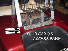 Club Car DS Golf Cart Highly Polished Diamond Plate Access Panel cover