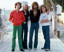 The Bee Gees With Brother Andy Gibb  8x10 Glossy Photo