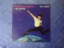 INA DETER (LP)  FRAUEN KOMMEN LANGSAM - ABER GEWALTIG [1986 MERCURY VINYL/+OIS]