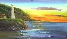 ART LESSON DVD - LIGHTHOUSE AT SUNRISE