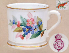 "Worcester 1879: Miniature Tankard (Floral Spray & Yew Sprig): 1½"" Dia. 1½"" Tall"