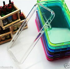 Cover Bumper Custodia Morbida Sottile Silicon Slim Trasparente Tpu Per iPhone 4S