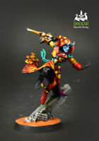 Solitaire Harlequin warhammer 40k ** COMMISSION ** pro painting