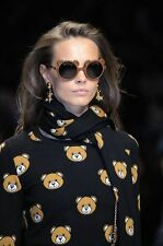 RUNWAY EXCLUSIVE Moschino Couture JEREMY SCOTT READY TO BEAR TEDDY SUNGLASSES