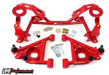UMI GM F-Body Tubular K-member & A-arm Package, Factory Springs UMI-240131 RED
