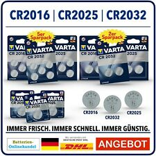 VARTA BATTERIEN I CR2032 I CR2025 I CR2016 I Bulkware Blisterware Auswahl