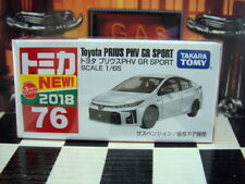TOMICA #76 TOYOTA PRIUS PHV GR SPORT 1/65 SCALE NEW IN BOX