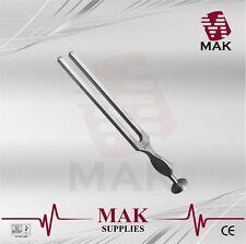M@K Fine Quality Tuning Fork - Medical Grade Gardiner Brown 256 Hz 18cm