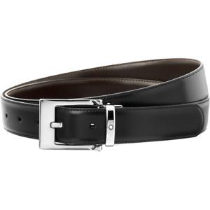 Montblanc Horseshoe Shiny Pin Reversible Belt