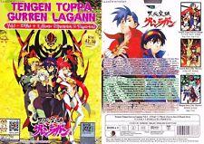 ANIME DVD~ENGLISH DUBBED~Tengen Toppa Gurren Lagann(1-27End)FREE SHIPPING+GIFT