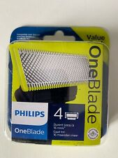 4 Lames Philips OneBlade Pro recharge QP240/50