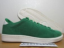 best sneakers 23fc6 89aa1 Nike Tennis Classic CS Suede Sz 9.5 100% Authentic Retro PINE GREEN 829351  300