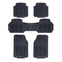 TOYOTA PRIUS PLUS 2012-ON - HEAVY DUTY UNIVERSAL RUBBER CAR FLOOR MATS 5 PIECE
