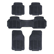 SSANGYONG TURISMO ALL MODELS- HEAVY DUTY UNIVERSAL RUBBER CAR FLOOR MATS 5 PIECE