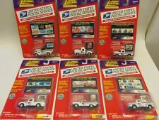 Lot of 6 Johnny Lightning UNITED STATES POSTAL SERVICE TRUCK & STAMP COLLECTION